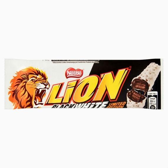 Батончик Nestle Lion Black & White, 40 г