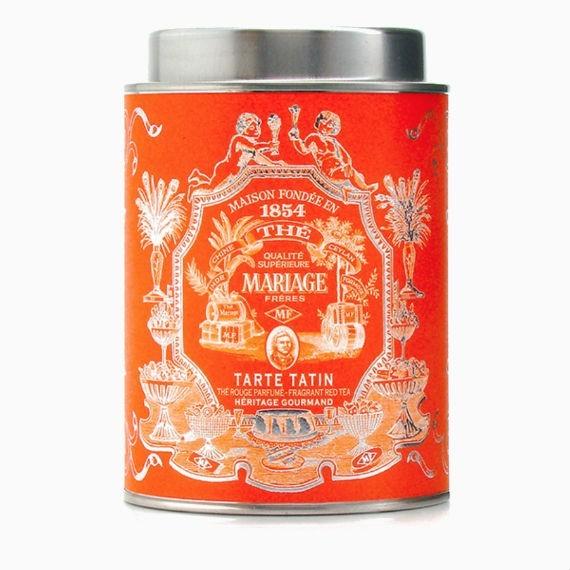 Черный чай Mariage Frères Tarte Tatin, 100 г.