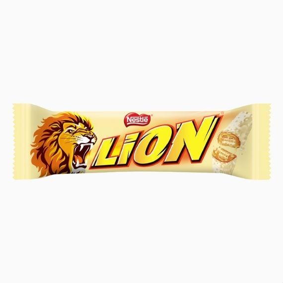 Батончик Nestle Lion White, 42 г