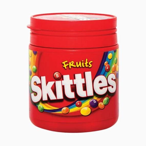 skitles fruits dose 125 g