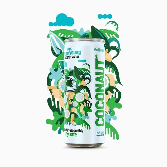 Coconaut, кокосовая вода, 0.32 л