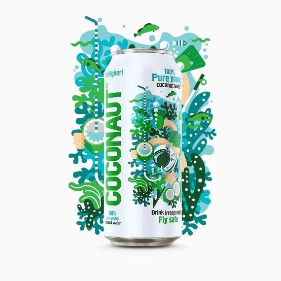 Coconaut, кокосовая вода, 0.5 л