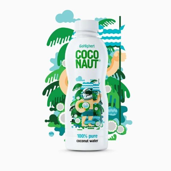 Coconaut, кокосовая вода, 1.0 л
