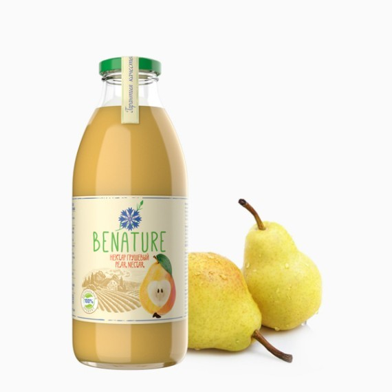 nektar benature grushevyj 0.73 l 1