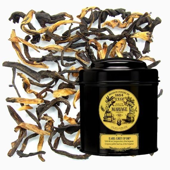 Чай Mariage Frères Earl Grey D'or, 100 г.