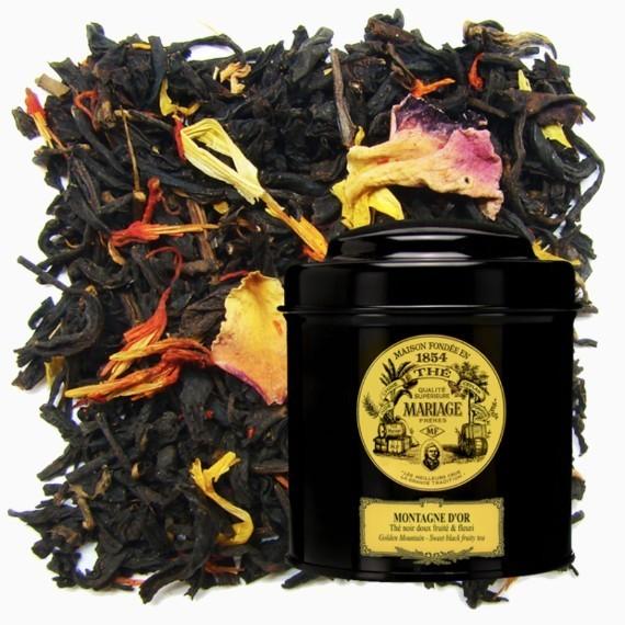 Чай Mariage Frères Montagne D'or, 100 г.