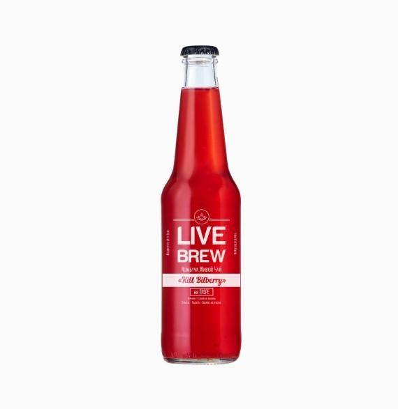 kombucha live brew kill bilberry 330 ml 1