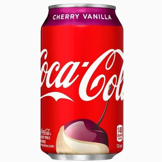gazirovannyj napitok coca cola cherry vanilla 0.355 l