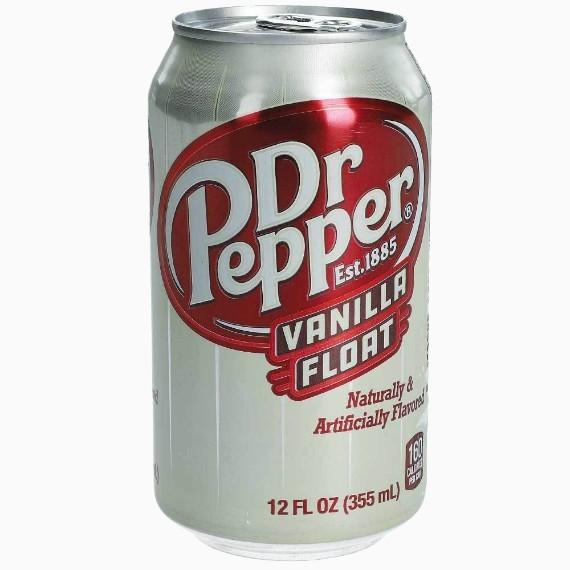 gazirovannyj napitok dr.pepper vanilla float 0.355 l.