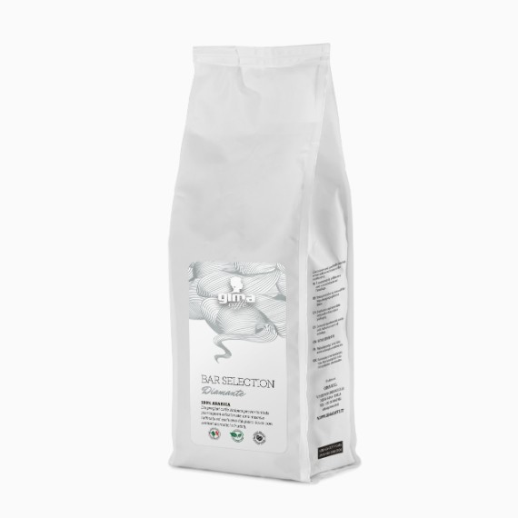 Кофе в зернах GIMA Bar Selection. Diamante. 100 % Arabica, 0.25 кг.