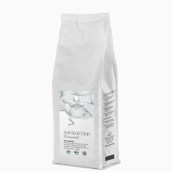 Кофе в зернах GIMA Bar Selection. Diamante. 100 % Arabica, 0.5 кг.