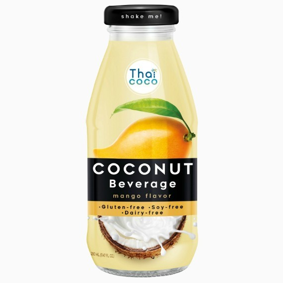 Thai Coco кокосовое молоко Манго, 0.28 л.