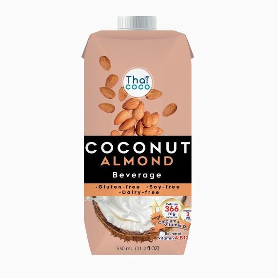 kokosovo mindalnyj napitok330ml