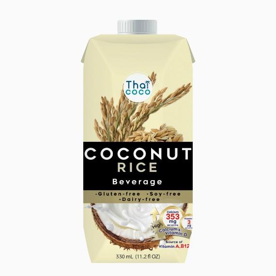 Thai Coco кокосовое молоко Рис, 0.33 л.