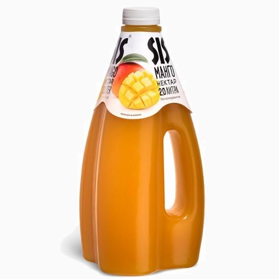 """Нектар """"Sis"""", манго, 1.6 л."""