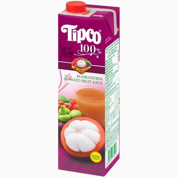 sok tipco mangostina prjamogo otzhima i smesi fruktov 1.0 l