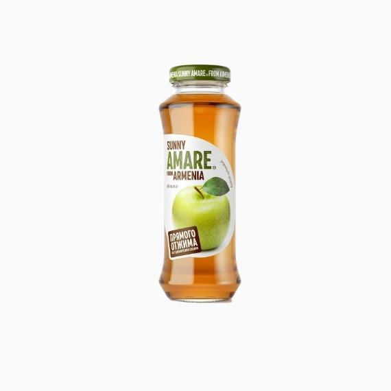 Сок Sunny Amare, яблоко, 0.25 л.