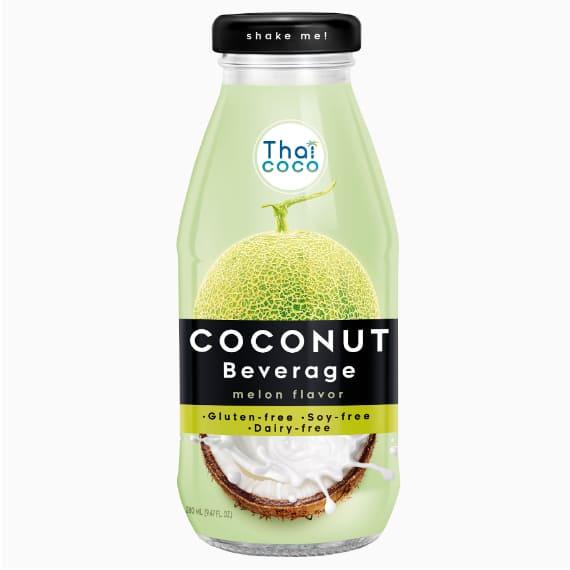Thai Coco кокосовое молоко Дыня, 0.28 л.