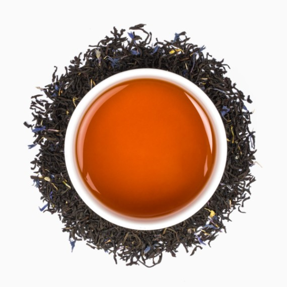 Чай Tealeaves Flowery Earl Grey Black, 100 г