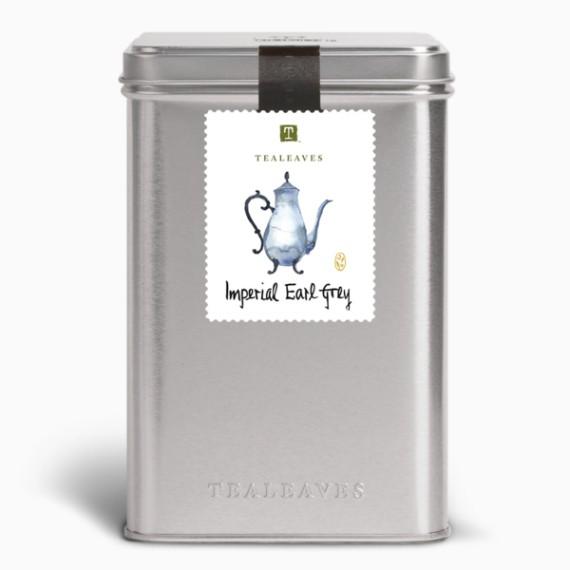 Чай Tealeaves Imperial Earl Grey Black, 100 г