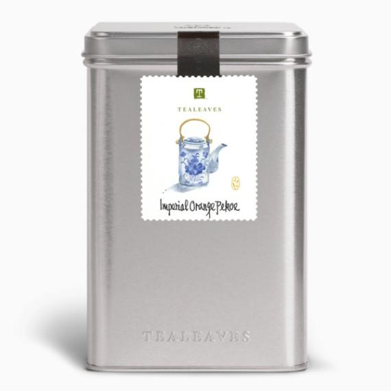 chaj tealeaves imperial orange pekoe black 100 g