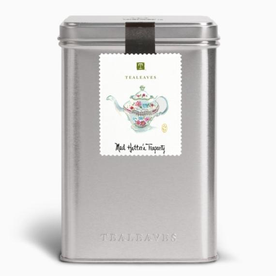 chaj tealeaves mad hatters teaparty black 100 g