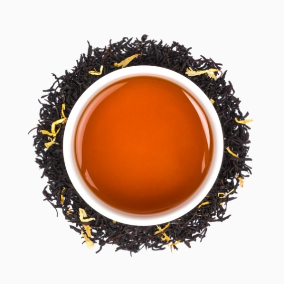 chaj tealeaves mad hatters teaparty black