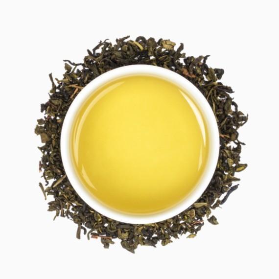 chaj tealeaves organic pear tree green 100 g
