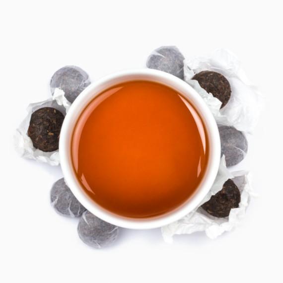 chaj tealeaves pu erh tou cha black 100 g