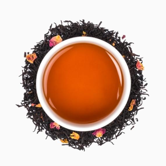 chaj tealeaves shanghai rose black 100 g