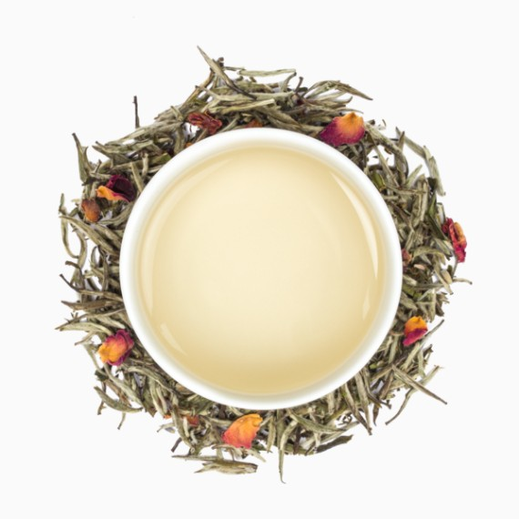 chaj tealeaves white blossom 100 g