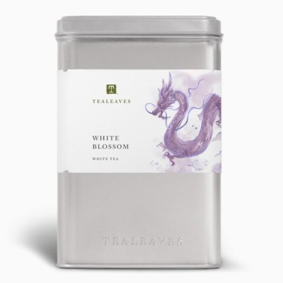 chaj tealeaves white blossom
