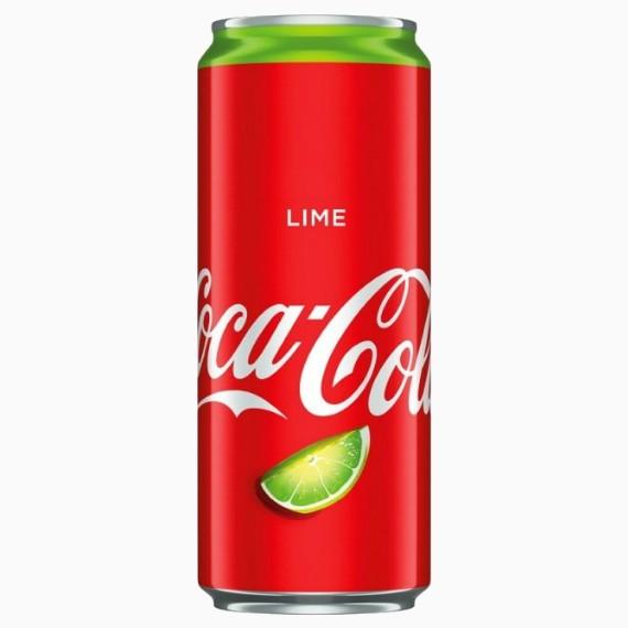gazirovannyj napitok coca cola lime 0.33 l