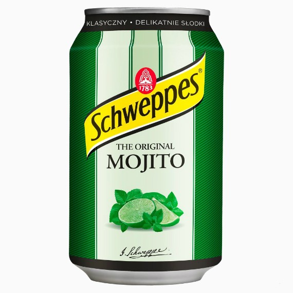 Газированный напиток Schweppes Mojito, 330 мл