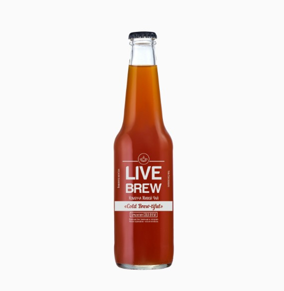 Комбуча Live Brew Cold-Brew-tiful, 350мл