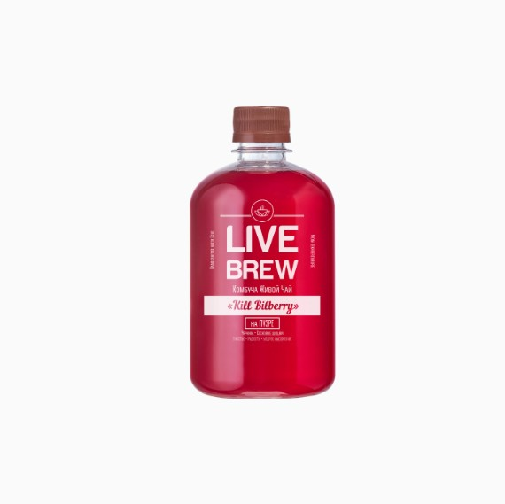 kombucha live brew kill bilberry 520
