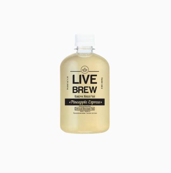 Комбуча Live Brew Pineapple Express, 520 мл