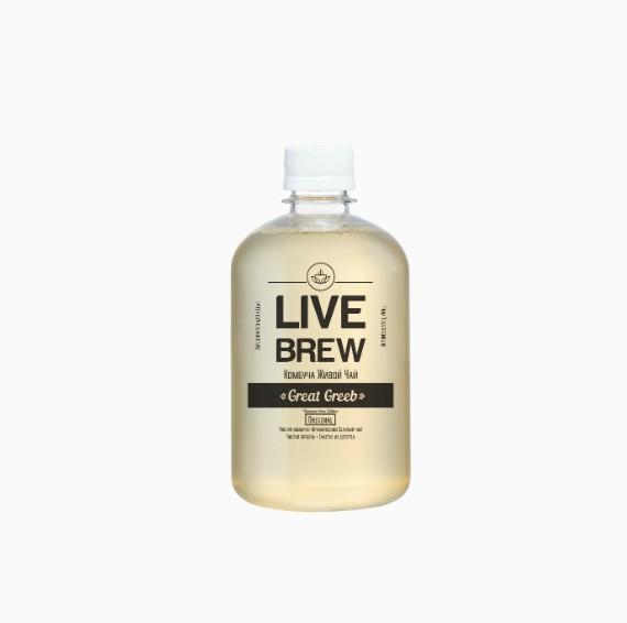 Комбуча Live Brew Great Greeb, 520 мл