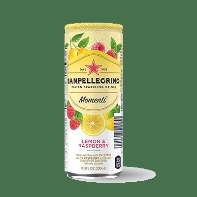 Напиток S.Pellegrino Momenti Лимон-Малина 0,33 л