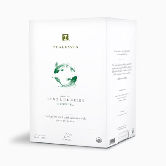 tealeaves long life green 4 g h 12 p.
