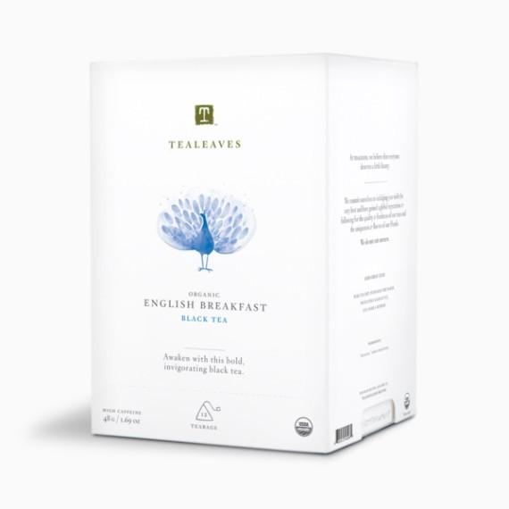 tealeaves organic english breakfast 4 g h 12 p.