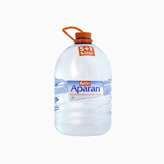 Вода APARAN, негазированная, 6.0 л