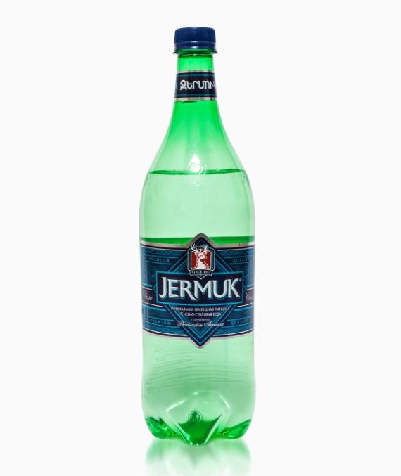 Минеральная вода Джермук, газированная, 1.0 л