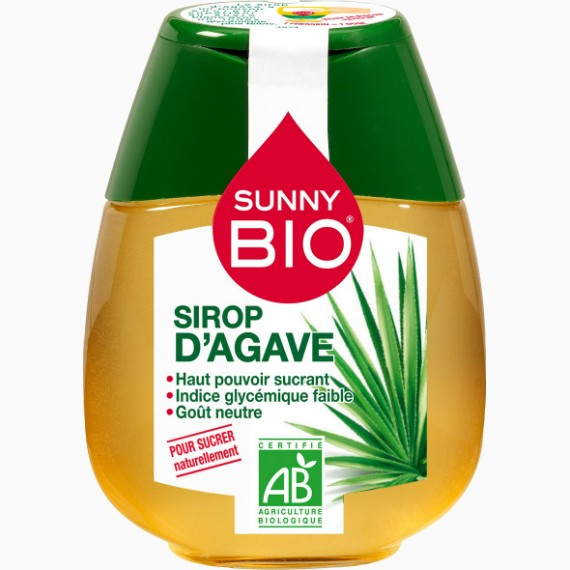 sunny sirop agavy bio