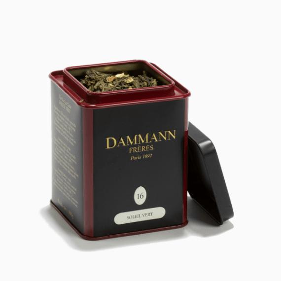 Чай Dammann Freres Thè Vert Melange Soleil Vert, 100 г.