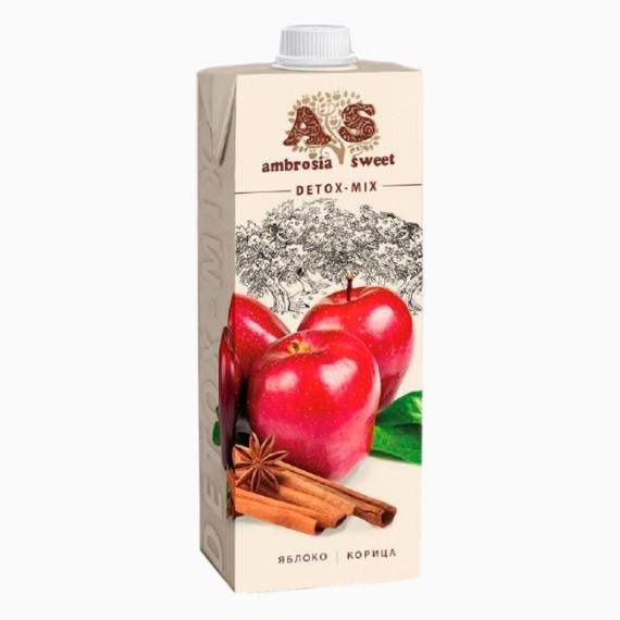 detoks sok ambrosia sweet jabloko korica 1.0 l
