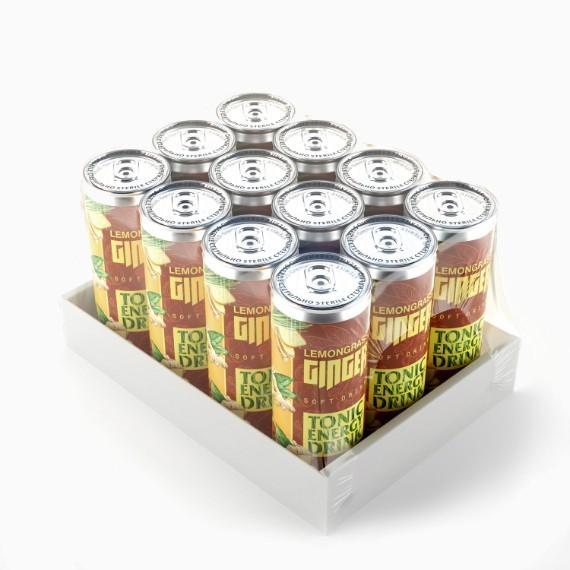 Энергетический напиток Chiko-Choko Lemongrass-Ginger, 0.33 л