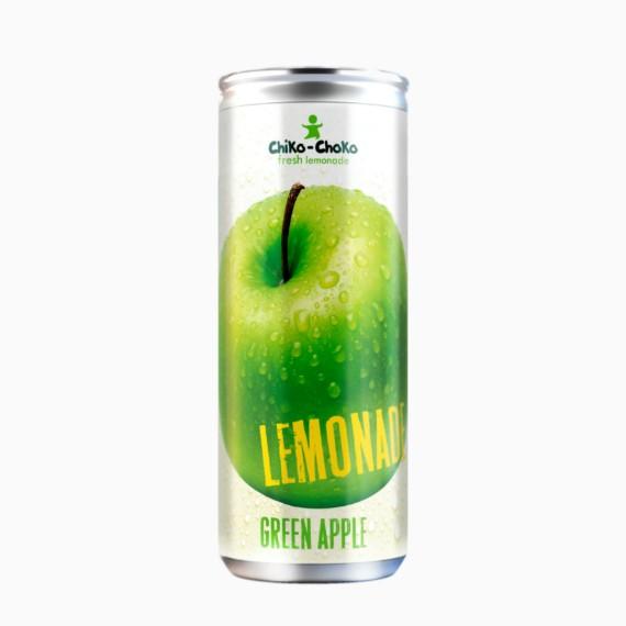 limonad chiko choko zelenoe jabloko 0.33 l