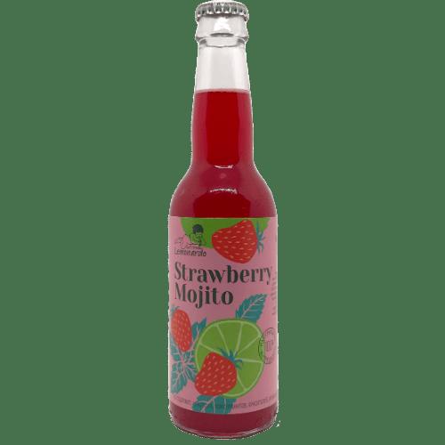 Лимонад Lemonardo Strawberry Mojito, 0.33 л