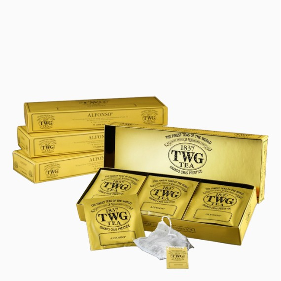Чай пакетированный TWG Earl Grey Buddha, 15 п